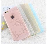 Ốp lưng kim tuyến dẻo hình kitty -iphone 6 plus