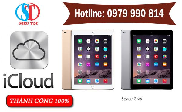 Giá mở khóa iCloud iPad